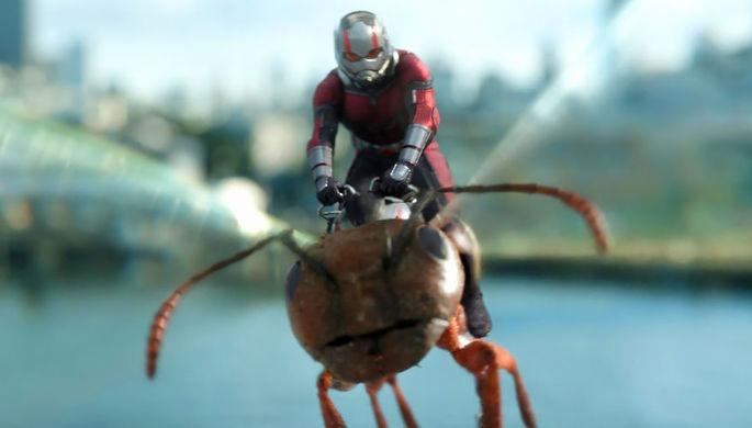 Кадр из фильма «Человек-муравей и Оса» (2018)