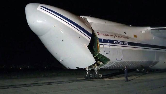 Антирекорд побит: российский самолет вылетел на помощь США
