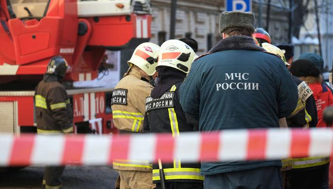 Метеостанция загорелась в Москве