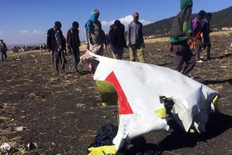 Последствия крушения самолета Boeing 737 ET 302 Ethiopian Airlines
