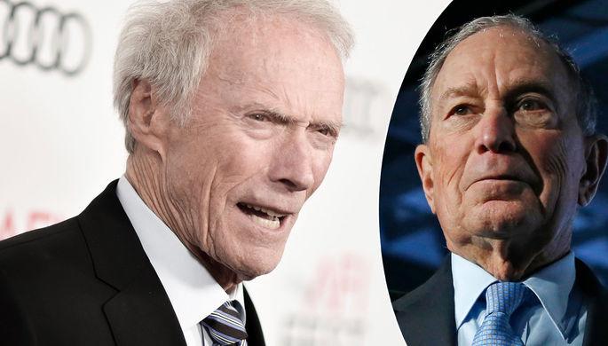 Выборы в США: Клинт Иствуд предал Трампа
