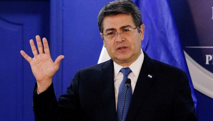 Президент Гондураса Хуан Орландо Эрнандес