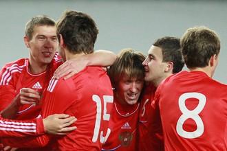 Молодежная сборная России в отборе к Евро только побеждает