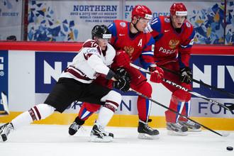 В Стокгольме сборная России обыграла команду Латвии