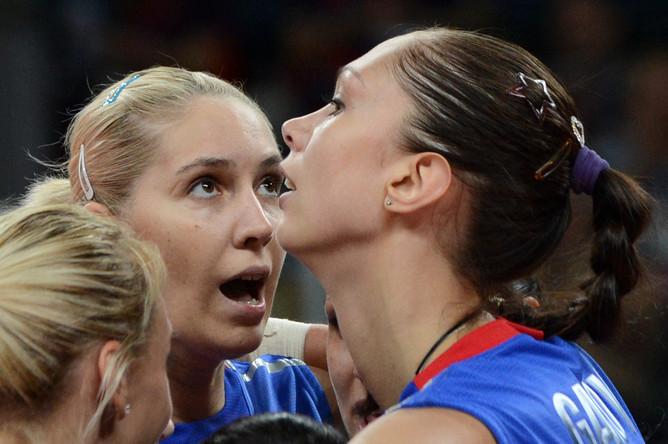 Россиянки переиграли итальянок на Олимпиаде