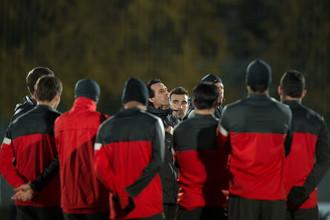 «Спартак» усиленно готовился к матчу с «Бенфикой»