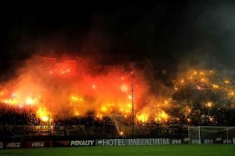 Беспорядки на уругвайских стадионах — обычное дело