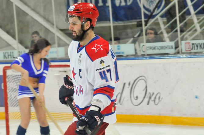 Александр Радулов, не набравший в игре ни очка