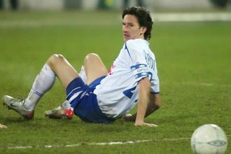 Алексей Смертин в 2006 году защищал цвета «Динамо»