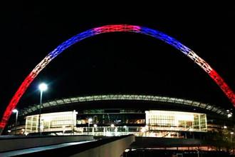 На стадионе «Уэмбли» в Лондоне