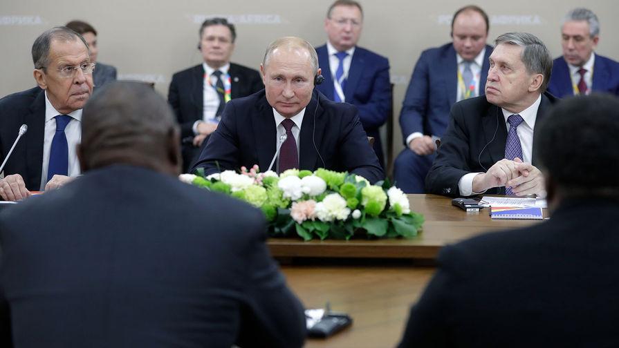 Россия списала странам Африки долгов более чем на $20 млрд