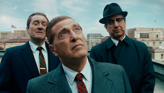 Кадр из фильма «Ирландец» (2019)
