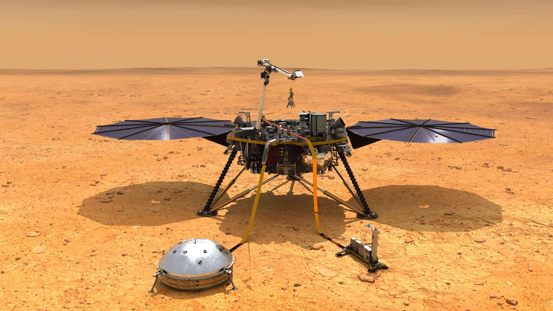 В NASA отреагировали на первую посадку китайского зонда на Марс - Газета.Ru  | Новости