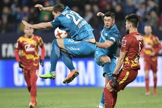 Тульский «Арсенал» разъярен судейством в матче против «Зенита» в Санкт-Петербурге