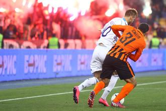 Донецкий «Шахтер» играет на выезде с киевским «Динамо» в 26-м туре УПЛ