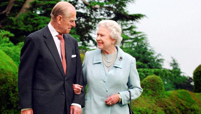Принц Филипп и королева Елизавета II в Ромси, 2007 год