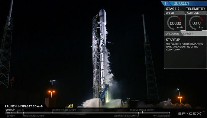 Маск отправил в космос пятидесятую ракету Falcon 9