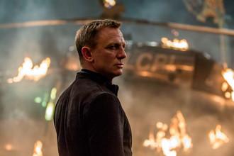 Кадр из фильма «007: Спектр»