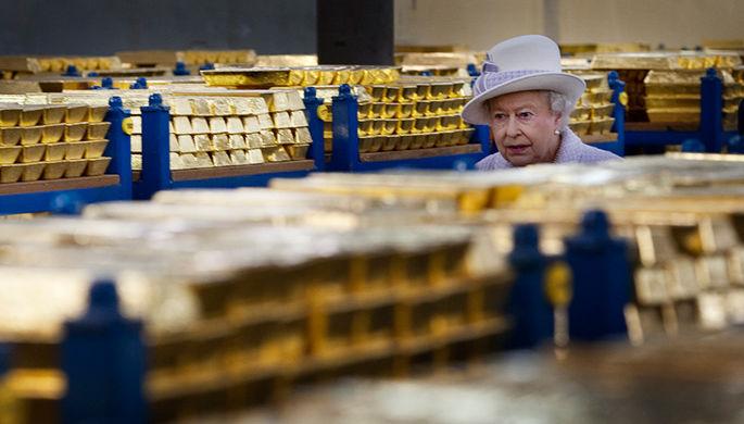 Китайцы прячут золото в Лондоне