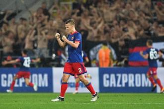 Футболист московского ЦСКА Понтус Вернблум