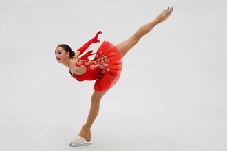 Российская фигуристка Алина Загитова