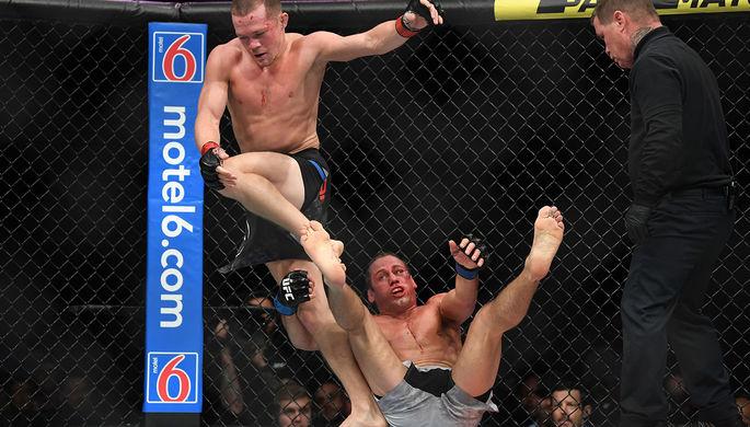 Российский боец UFC Петр Ян