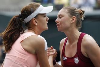 Агнешка Радваньская не пустила Веру Звонареву на вторую строчку рейтинга WTA