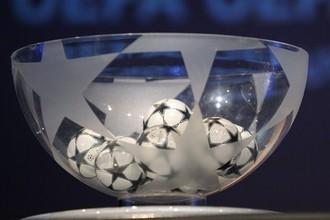 В пятницу состоится жеребьевка 1/8 финала Лиги чемпионов
