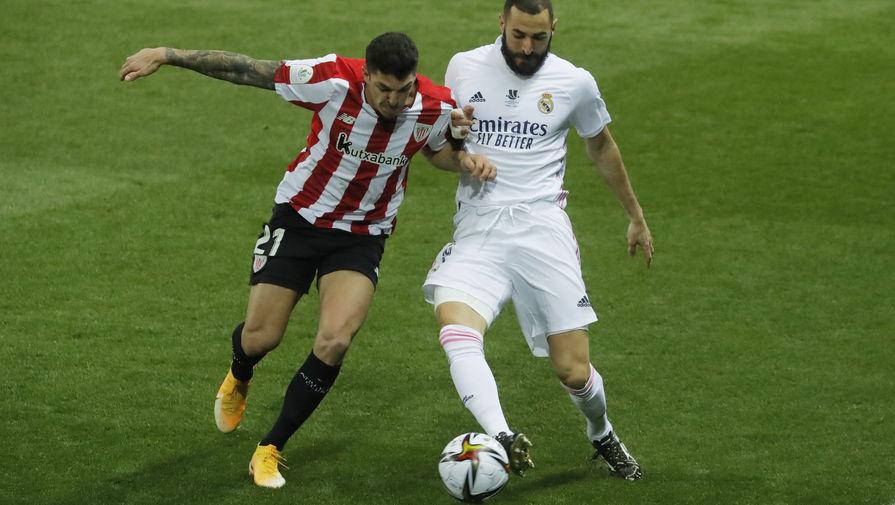 эпизод матча «Реал»- «Атлетик»