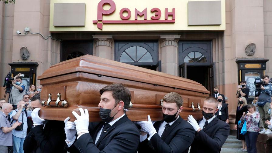Сличенко похоронили на Троекуровском кладбище