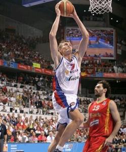 Андрей Кириленко был капитаном сборной на Евробаскете в Испании