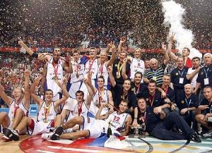 Триумф команды Блатта на ЧЕ в Мадриде. 2007 год