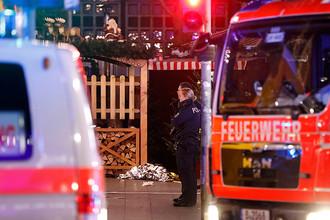 Последствия теракта на рождественской ярмарке в Берлине, 19 декабря 2016 года