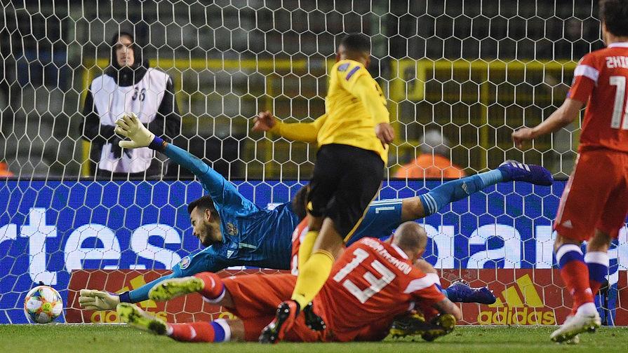Сборная России убралась в раздевалке после матча с бельгийцами