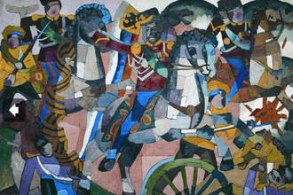 Аристарх Лентулов, «Победный бой»