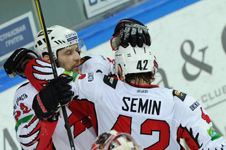 Только что Дмитрий Семин открыл счет в матче