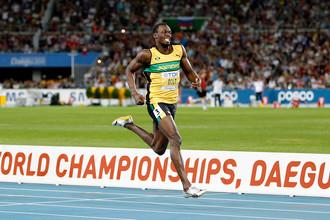Ямайский бегун Усейн Болт