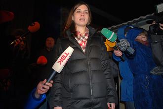 Участница панк-группы Pussy Riot Надежда Толоконникова вышла на свободу
