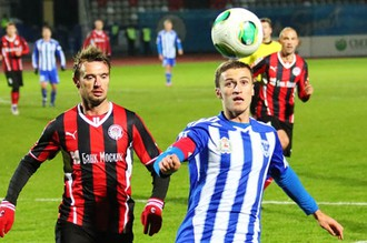 Пермский «Амкар» и нижегородская «Волга» встречаются в Премьер-лиге в восьмой раз