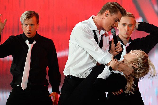 Алексей Воробьев на Международном конкурсе молодых исполнителей популярной музыки «Новая волна 2016» в Сочи