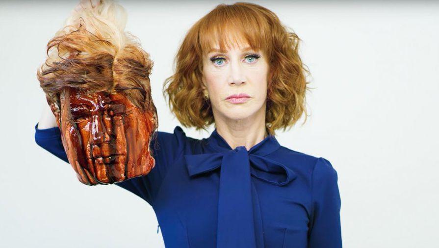 Ведущая CNN извинилась за «отрубленную голову» Трампа - Газета.Ru
