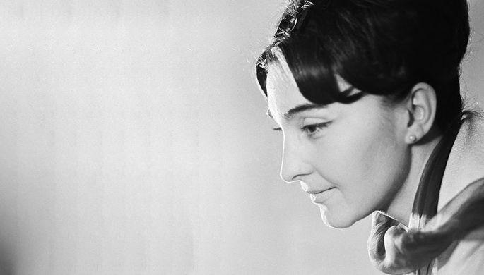 Народная артистка Грузии Лейла Абашидзе, 1 апреля 1965 г.