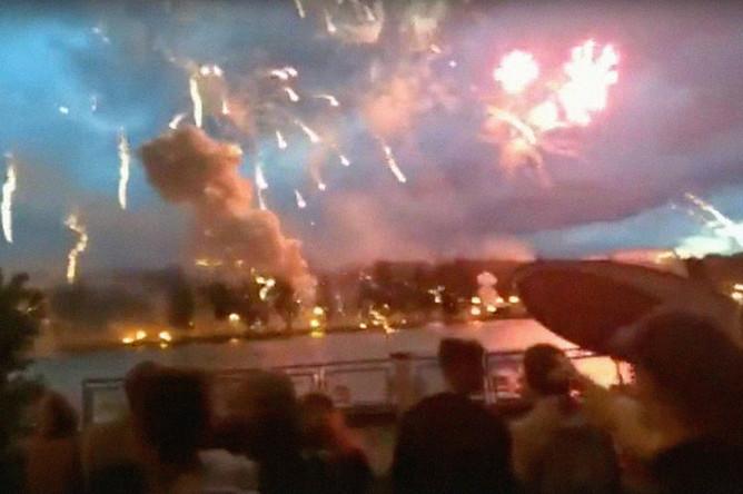 Последствия взрыва во время праздничного салюта в Минске, 4 июля 2019 года