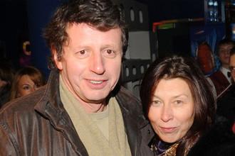 Михаил Ширвиндт с женой Татьяной, 2008 год