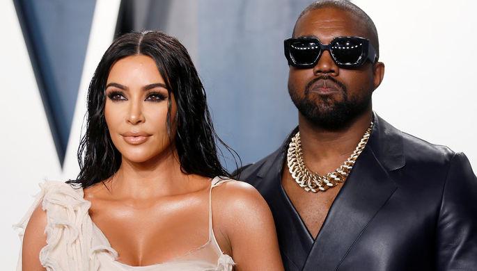 Зеркальный ответ: Канье Уэст выдвинул условия развода с Ким Кардашьян