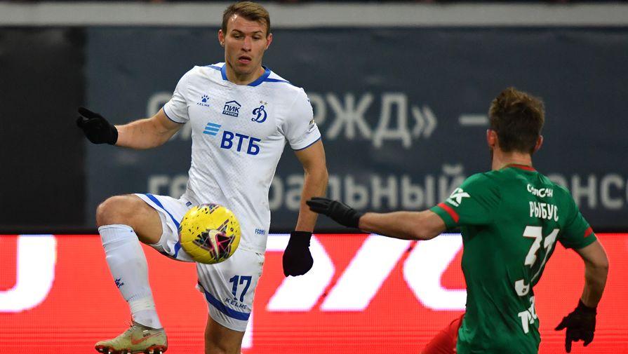 эпизод матча «Динамо»- «Локомотив»