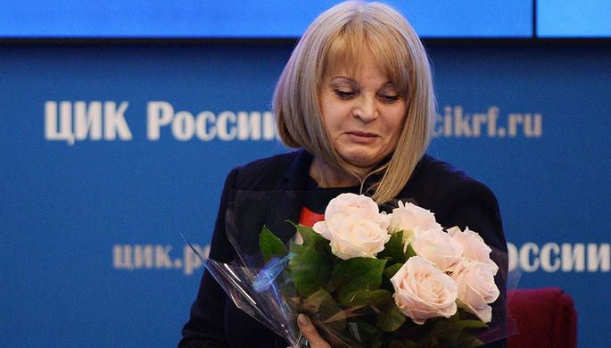 Элла Памфилова, избранная председателем Центральной избирательной комиссии РФ на первом заседании нового состава ЦИК