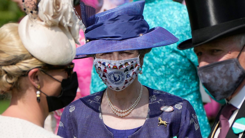 Принцесса Анна, дочь Елизаветы II, на церемонии открытия турнира Royal Ascot, 15 июня 2021 года
