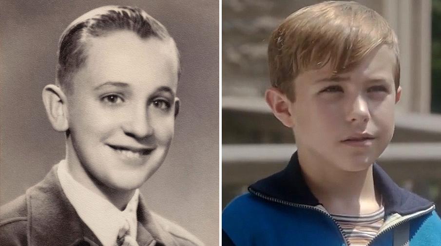 Папа Франциск в молодости и Пий XIII из сериала «Молодой Папа»