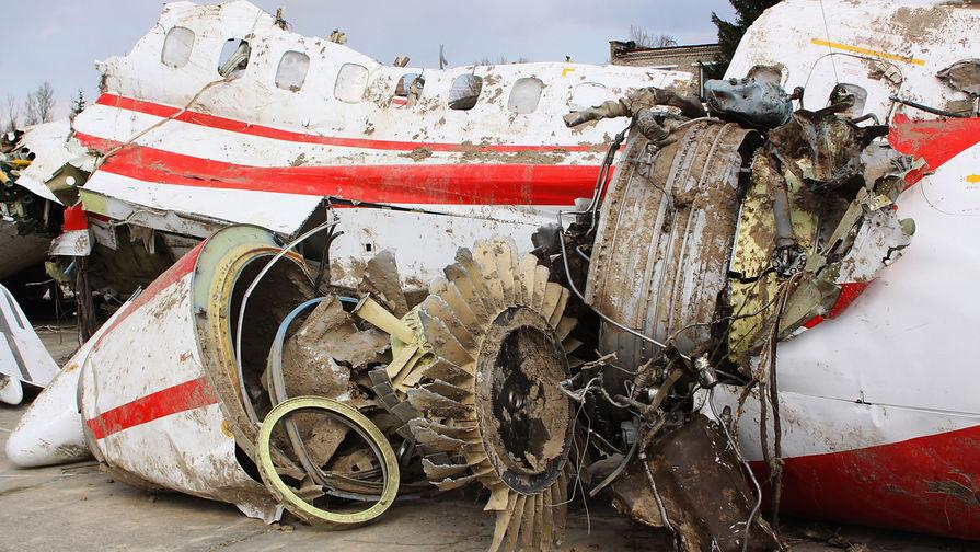 МИД Польши призывает Россию вернуть обломки Ту-154 Качиньского